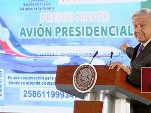 López Obrador comparte las posibles reglas para participar en la rifa del avión presidencial. Estas son.
