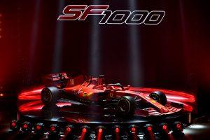 Así se ve el SF1000, la apuesta de Ferrari para destronar a Mercedes en la Fórmula 1