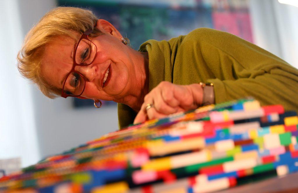 Rita Ebel sufrió un accidente hace 25 años y provocó que use silla de ruedas