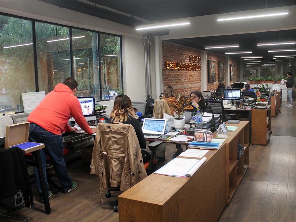 Oficinas del Grupo Chilango Gringo Pinche Gringo Warehouse