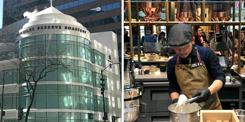 Así se ve el Starbucks más grande del mundo: está en Chicago y tiene 5 pisos