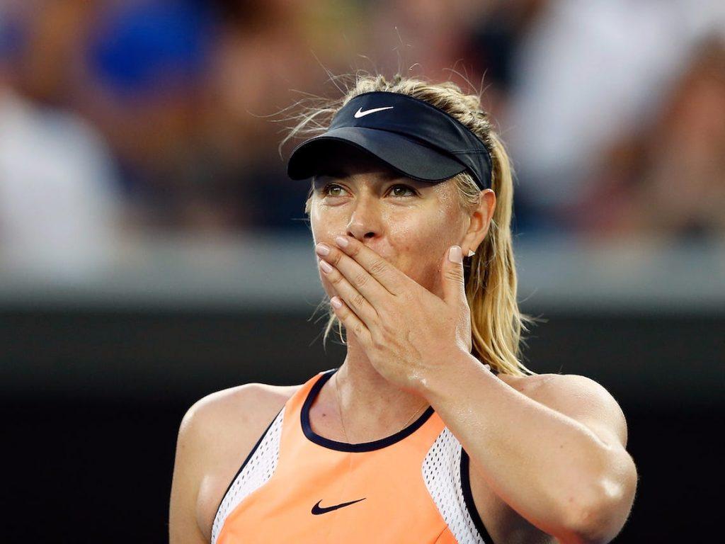 Maria Sharapova tenis wta anuncia su retiro profesional