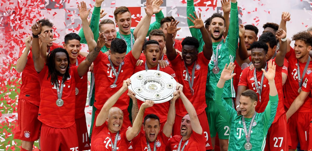 bayern múnich heptacampeon campeon bundesliga liga alemania