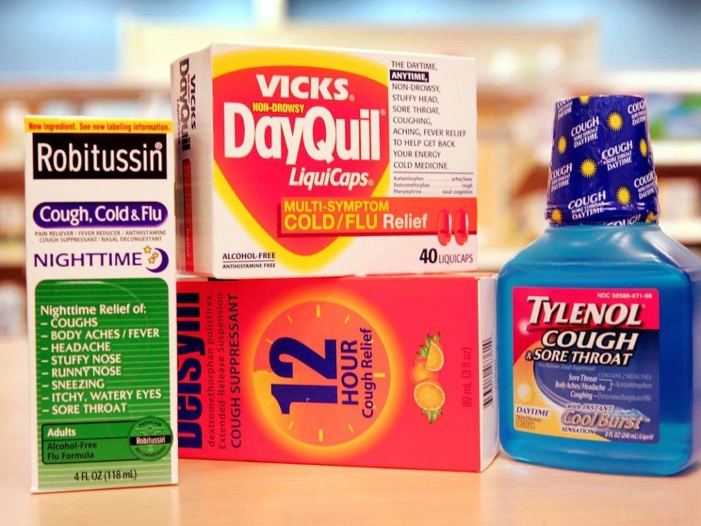 medicamentos medicinas pastillas jarabe fiebre tos gripa dolor de estómago