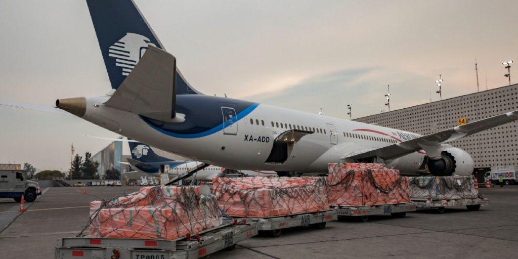 Aeroméxico aviones de carga