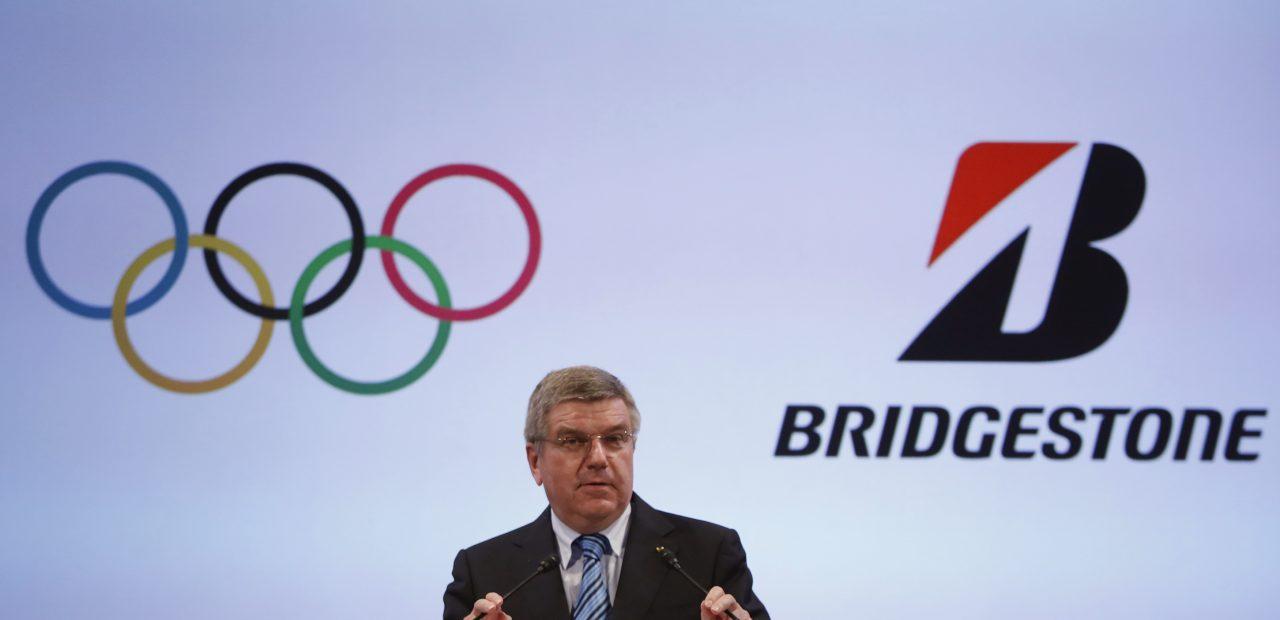 bridgestone patrocinadores comité olímpico internacional tokio 2020