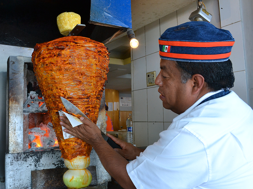 tacos al pastor El Tizoncito