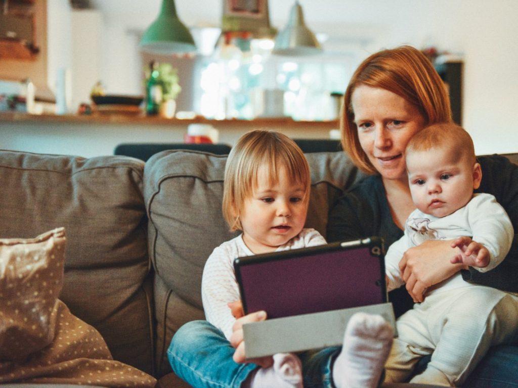 Uno de los retos es realizar el trabajo diario en casa, además de homeschooling y el trabajo.