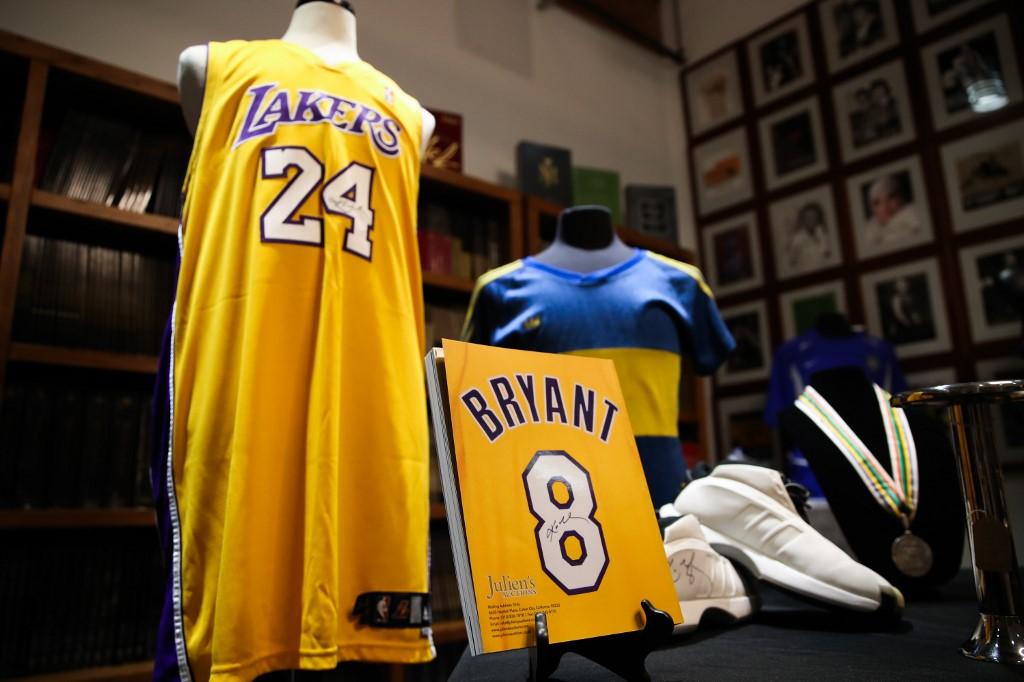 Varios objetos de Kobe Bryant en subasta deportiva | Business Insider México