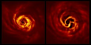 Así es como se ve la formación de un planeta; esta es la primera vez que se captura en imágenes dicho fenómeno