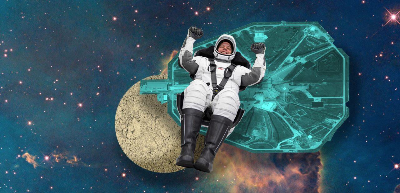 Space X lanzamiento