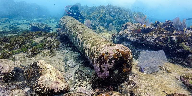 INAH naufragio Quintana Roo