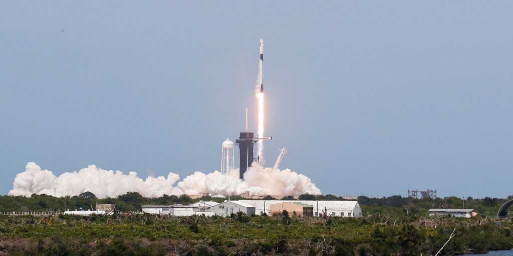 lanzamiento SpaceX NASA | Business Insider