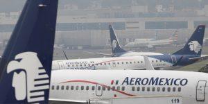 Aeroméxico transportó 135 mil pasajeros en mayo, 92.4% menos que en el mismo periodo de 2019