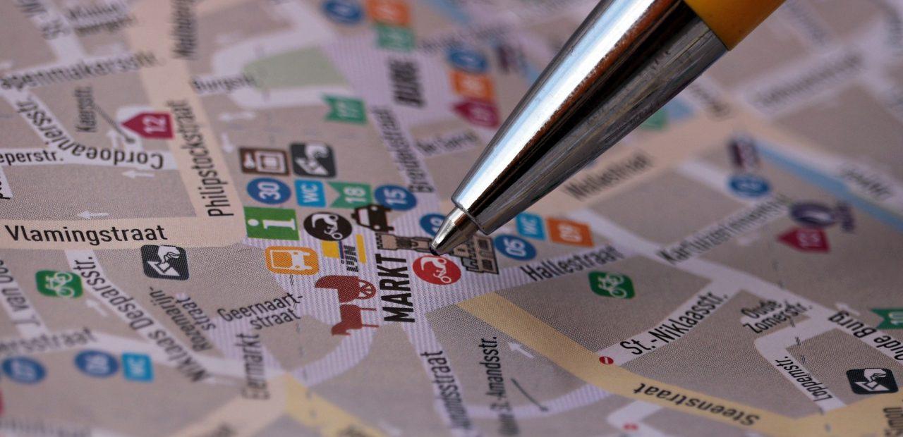 negocios ventas estrategia mapa mapas