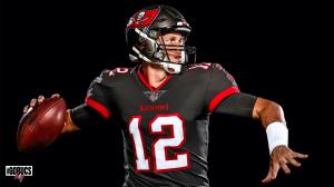 Los Buccaneers de Tampa Bay presumen cómo se ve Tom Brady con su uniforme