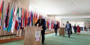 México forma parte de los cinco países del Consejo de Seguridad de la ONU; esta sería la quinta ocasión en la historia del país