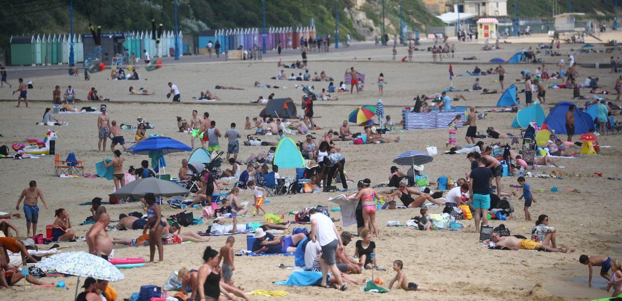 Bournemouth, Inglaterra playas confinamiento | Business Insider México