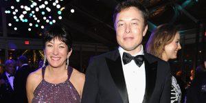 Elon Musk una vez más negó haber conocido a Ghislaine Maxwell, diciendo que 'se coló en una foto mía' que fue ampliamente compartida en 2014