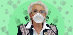 Conoce las gotas Gasdem B de nanopartículas de cítricos que toma la secretaria de gobernación, Olga Sánchez Cordero