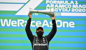Lewis Hamilton gana el GP de Hungría e iguala récord de Michael Schumacher