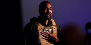 Kanye West dio un emotivo discurso anti-aborto en su primer mitin político — y dijo que Kim Kardashian y él consideraron abortar a su hija North