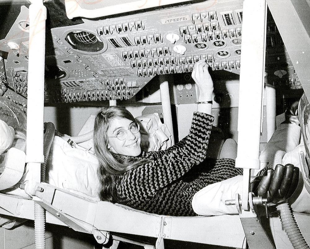 Margaret Hamilton, una de las mujeres del Apolo 11