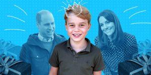 El príncipe George celebra su cumpleaños número 7 con dos fotografías inéditas