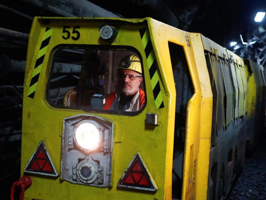 trabajo mineros