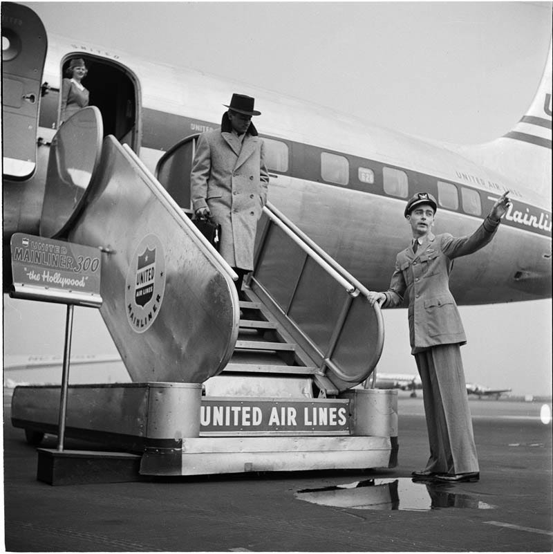 United Airlines 1940 foto