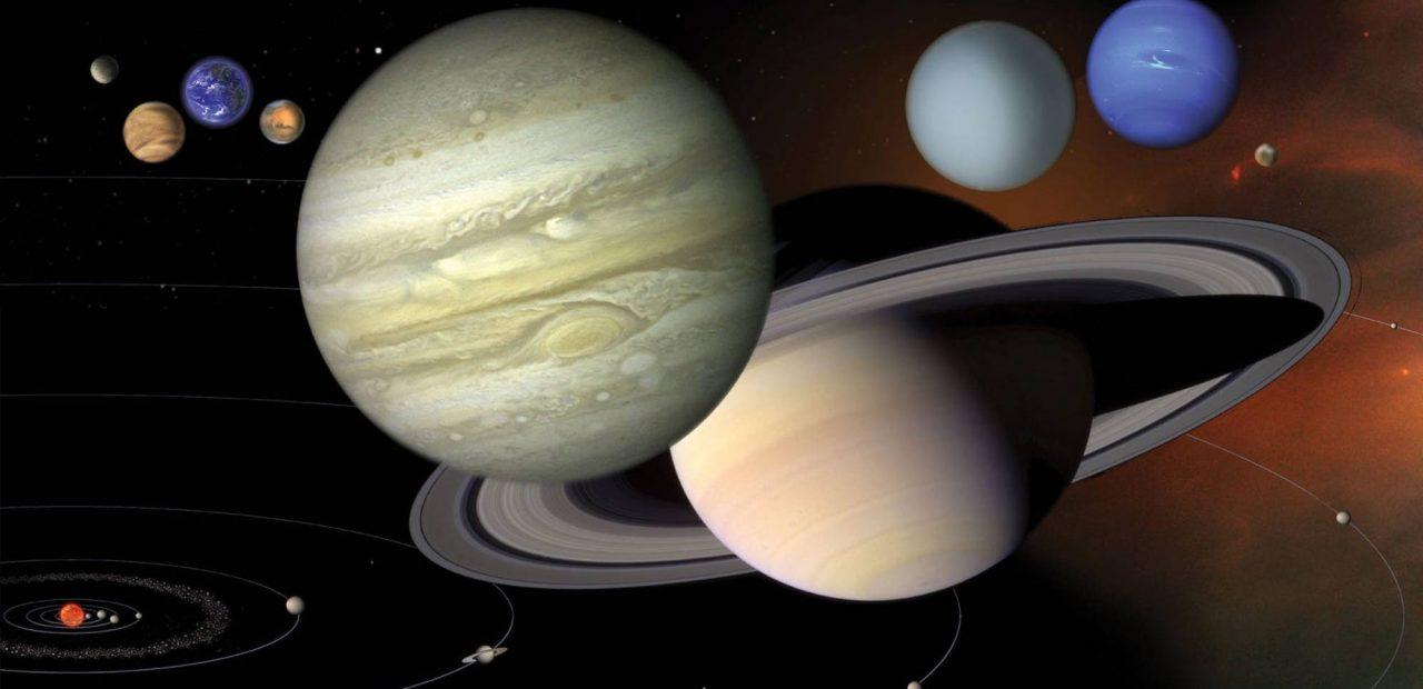 sistema solar orbita