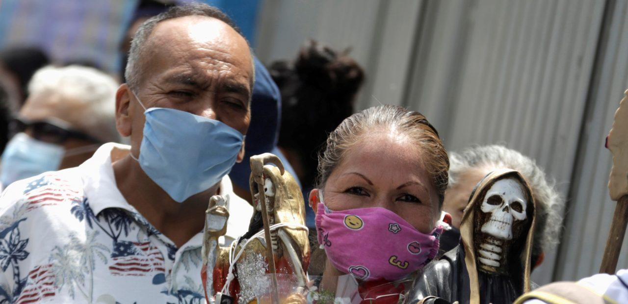mexico mexicanos cubrebocas coronavirus