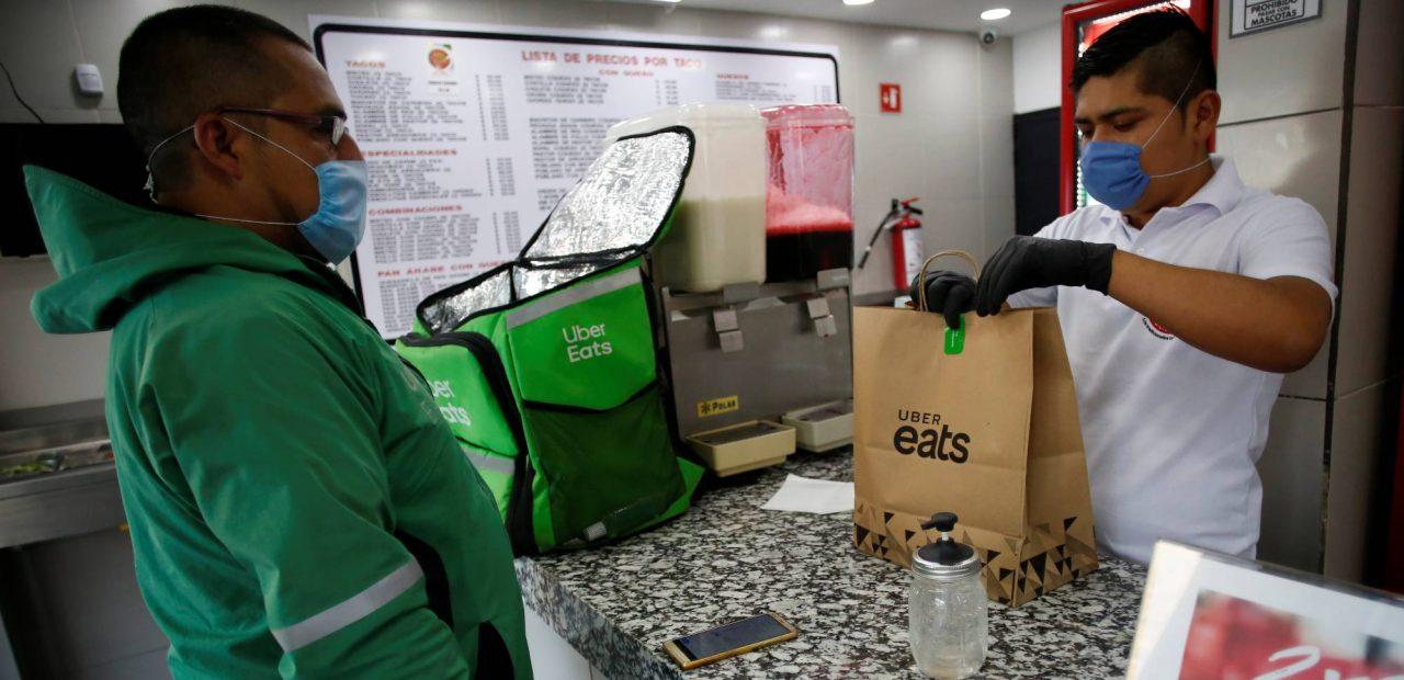 Uber Eats restaurantes México