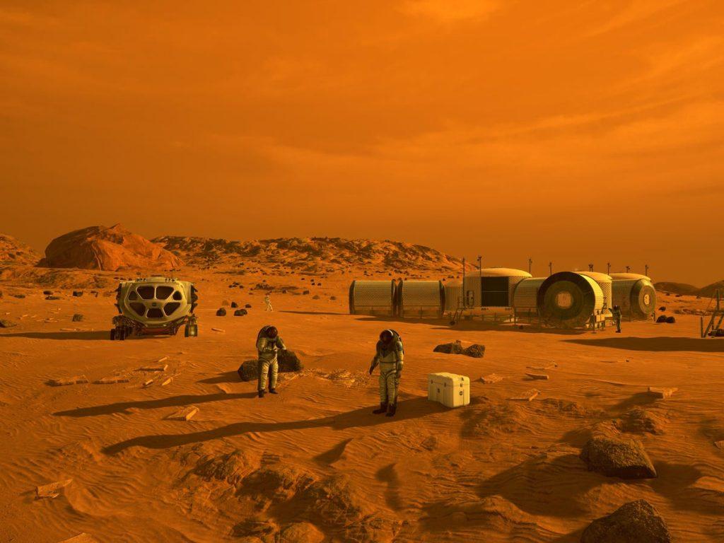 Marte y NASA