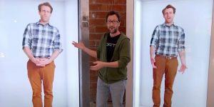 ¿Cansado de las videollamadas? Esta empresa te ofrece máquinas de hologramas para hablar en tiempo real
