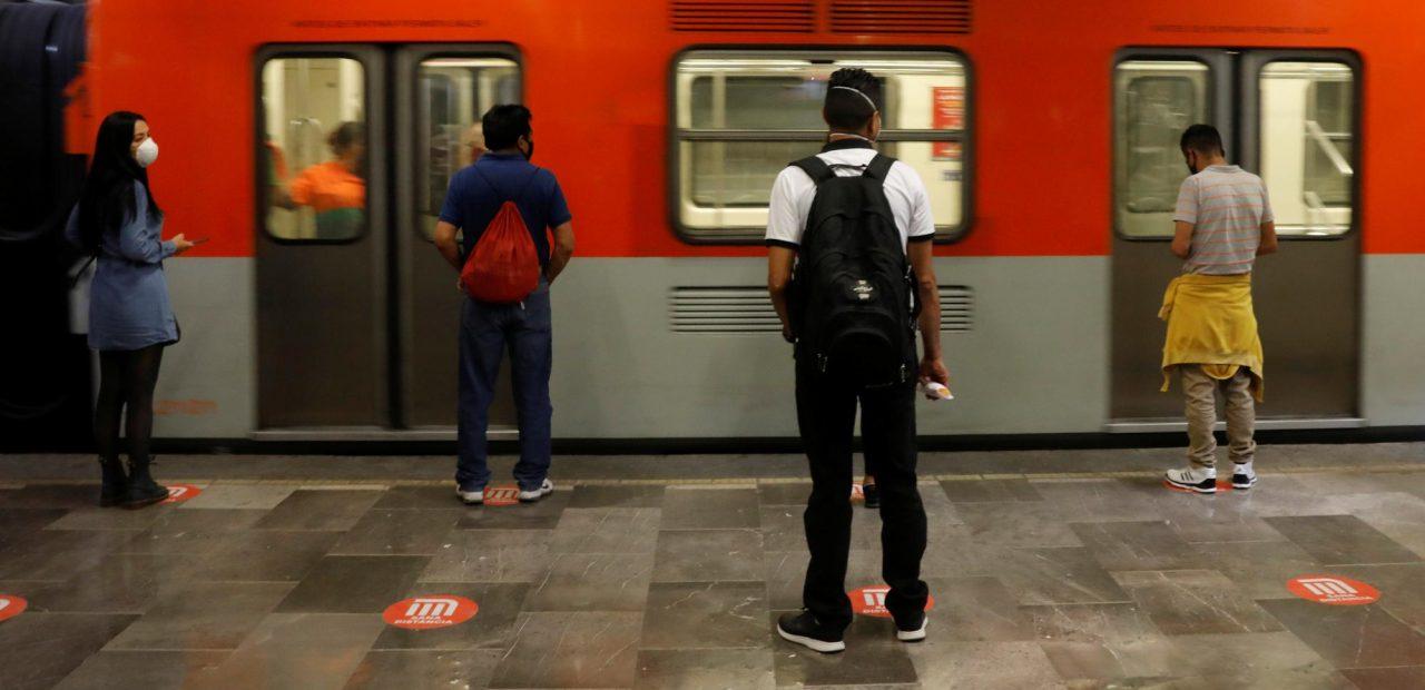 transporte publico coronavirus metro cdmx