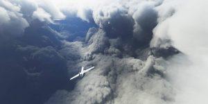 La gente está volando aviones virtuales hacia el huracán Laura en la última versión del juego clásico 'Microsoft Flight Simulator', que simula patrones climáticos del mundo real