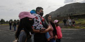 Las pirámides de Teotihuacán reabren sus puertas a turistas