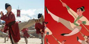 """Spoiler alert: Así es como se comparan 9 momentos clave en la live-action de """"Mulán"""" con la película animada"""