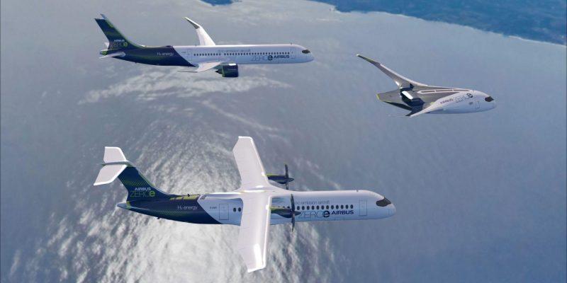 Airbus quiere lanzar aviones con cero emisiones en 2035 que funcionarán con hidrógeno